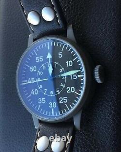 Laco Paderborn Flieger Pilot Watch Type B 42mm ETA Automatic WW2 German