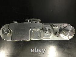 Leica II(D) DRP Ernst Leitz Wetzlar WWII Vintage With Leica Lens Original German