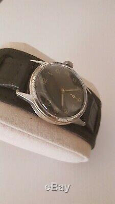 Luftwaffe Roamer early WW2 German Miltary D DH Watch serviced all original