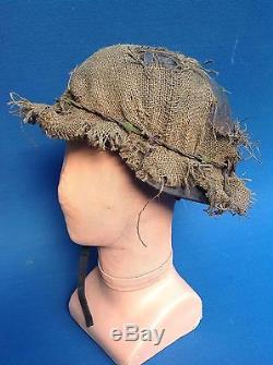 Original 1944 Bocage Region Ww2 German Infantry Helmet With Liner, Named