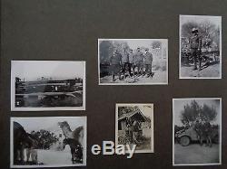 ORIGINAL Afrikakorps DAK WWII GERMAN PHOTO Album Wehrmachtgrecia Tunisie Italia