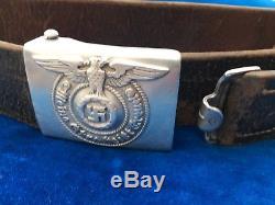 ORIGINAL GERMAN WW2 EM/NCO's BELT & BUCKLE