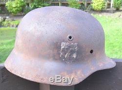 Original German Ww2 M40 Helmet