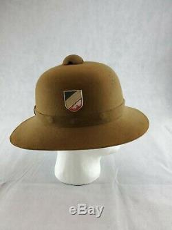 ORIGINAL German DAK Afrika Korps PITH HELMET WWII DESERT