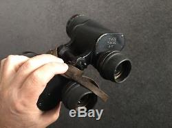ORIGINAL German WW2 Zeiss Kriegsmarine Gasmask Binoculars in superb condition