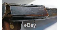 ORIGINAL HARDSHELL WWII GERMAN CZ-38 P39(t) HOLSTER WaA 179 JKB MARKED CZ-38