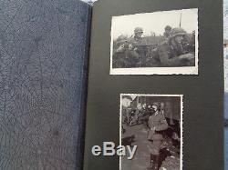 ORIGINAL Militaria WWII GERMAN PHOTO Album