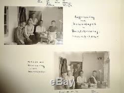 ORIGINAL Militaria WWII GERMAN PHOTO Album Krim Jalta Ukraine sevastopol