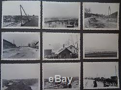 ORIGINAL Militaria WWII GERMAN PHOTO Album military russia balcanes
