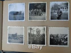 ORIGINAL Militaria WWII GERMAN PHOTO Album tank Harkiv