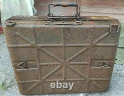 ORIGINAL PAINT German WW2 Wehrmacht M24 box + carrying