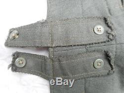 ORIGINAL WW2 GERMAN ARMY / ELITE M43 KIELHOSE trousers PANTS hose ITALIAN CLOTH