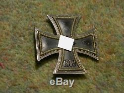 ORIGINAL WW2 GERMAN IRON CROSS 1st CLASS