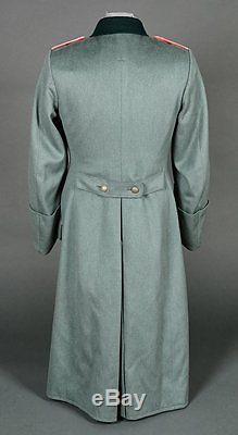 Original Ww2 German Panzer Lieutenant's Dress Type Tailor Made Overcoat
