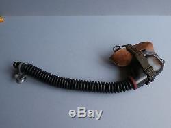 ORIGINAL WWII GERMAN LUFTWAFFE OXYGEN MASK 10-6702 byd/Dräger/