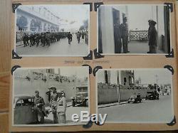 ORIGINAL WWII GERMAN PHOTO Album africakops military 100% original Tripolis