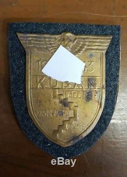 ORIGINAL WWII German KUBAN Armshield