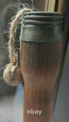 ORIGINAL WWII German M24 Potato Masher SMOKE Original parts