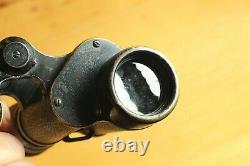 ORIGINAL WWII German Wehrmacht Dienstglas E. Leitz D. F. 6x30 H/6400 Binoculars