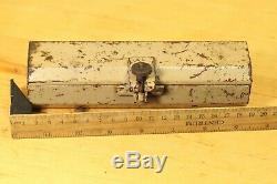 ORIGINAL WWII German Wehrmacht WW2 Mg lafette Spare Bolt Empty BOX