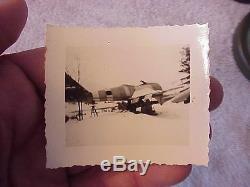 Original Wwii Photo Of Me-262 German Jet Aircraft