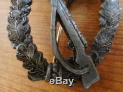 ORIGINAL german WW2 Bronze INFANTRY ASSAULT COMBAT BADGE AWARD S. H&CO 1941