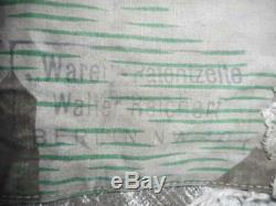 Original 1940 dated WW2 GERMAN ARMY HEER WH splinter TARN CAMO zelt ZELTBHAN