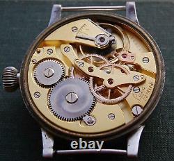 Original Big LACO 1940 B-UHR WWII German Luftwaffe Pilot / Aviator Wrist Watch