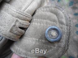 Original ELITE WW2 GERMAN KHARKOV WINTER FUR CAP HAT & MITTS EASTERN FRONT