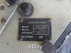 Original GENUINE WW2 GERMAN NAVY U BOAT SEXTANT