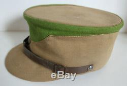 Original German WW 2 Brown Hat Kepi Gruppe Thüringen