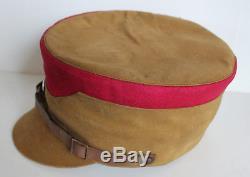 Original German WW 2 Brown Hat Kepi Mannschaft