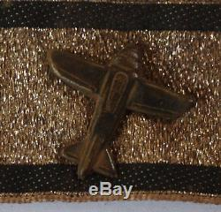 Original German WW 2 Flugzeug Vernichtungsstreifen Plane Destroy Badge