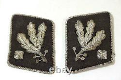 Original German WW 2 high rank Elite Collar Tabs