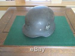 Original German WW 2 single decal helmet