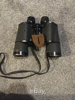 Original German WW2 Carl Zeiss (blc) 10x50 Dienstglas Binoculars