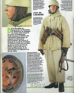 Original German WW2 Fallschrimjager Winter Padded Jacket Uniform Luftwaffe
