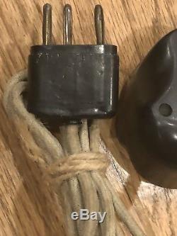 Original German WW2 Hand Held Microphone