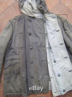 Original German WW2 Mouse Grey Winter Parka