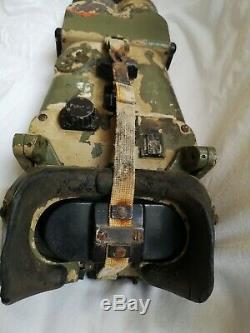 Original German WWII Artillery 12 x 60 Flak Binoculars Afrika korps