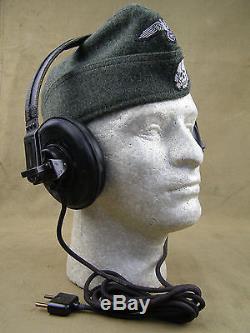 Original German WWII Panzer/Armored Vehicle Headphones