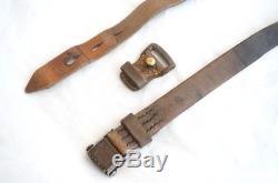 Original German WWII WW2 K98 Sling L&F MArked Early Keeper