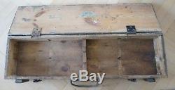 Original German WWII WW2 Panzerschreck Offenrohr Rocket Transport Crate Case Box