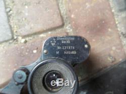 Original German ww2 6x30 binoculars and case Dienstglas