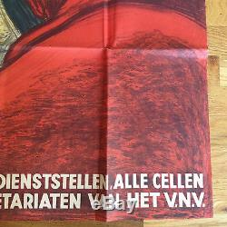 Original Gevaar Voor Ons Land! (Danger To Our Country) German Propaganda WWII