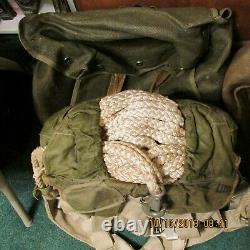 Original Minty German WW2 RZ20 Parachute Rig Fallschirmjager With Capture Papers