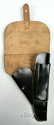Original Unissued Wwii German Walther P38 Holsters Waffen Marked & Rb Numbered