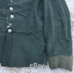 Original! Very Rare Ww2 German Waffenrock Converted Field Uniform