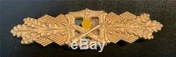 Original WW II German Army/Elite Troops Close Combat Clasp, First Class