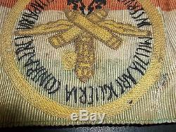 Original WW2 Fascist Italian, Air Force Flak Arm Band Uniform helmet, German Allie